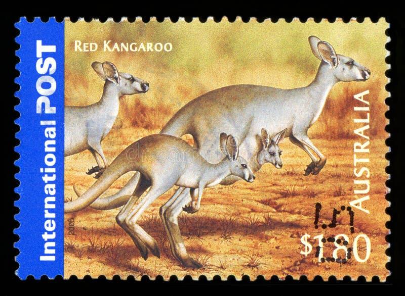 AUSTRALIA - sello imagen de archivo libre de regalías