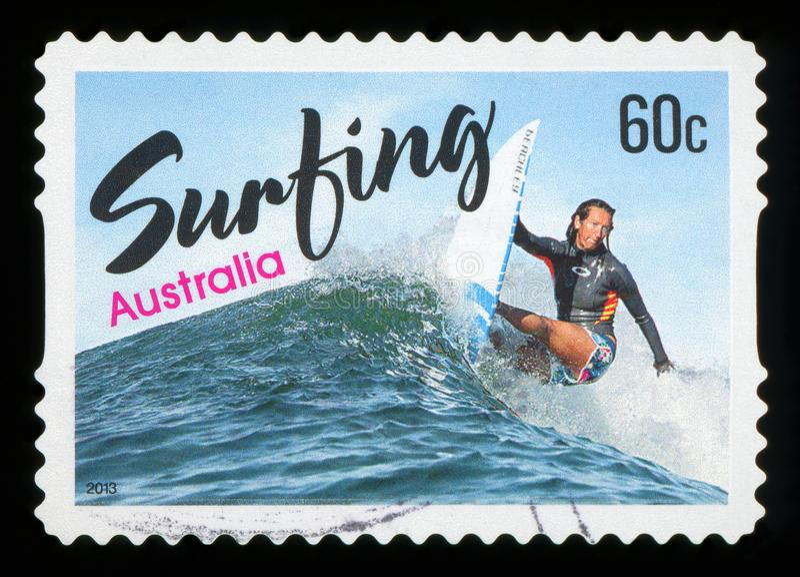 AUSTRALIA - sello foto de archivo
