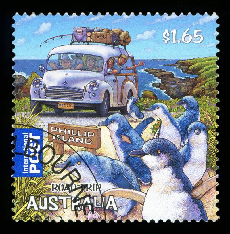 AUSTRALIA - sello imagenes de archivo