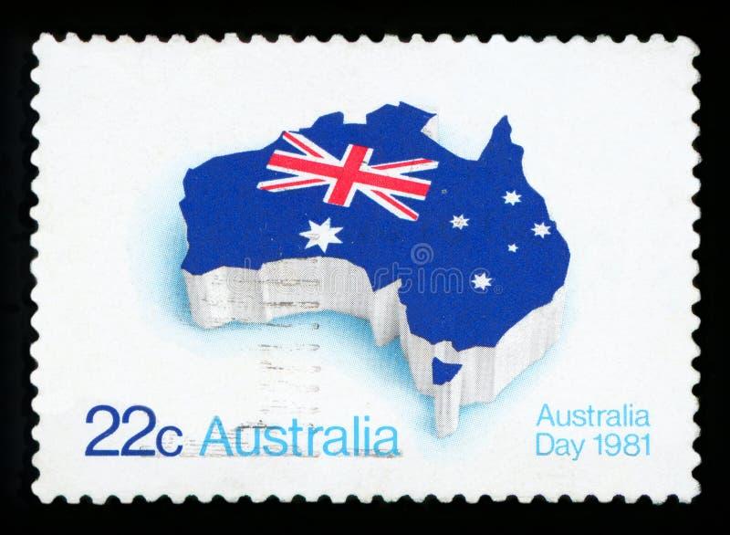 AUSTRALIA - sello imagen de archivo