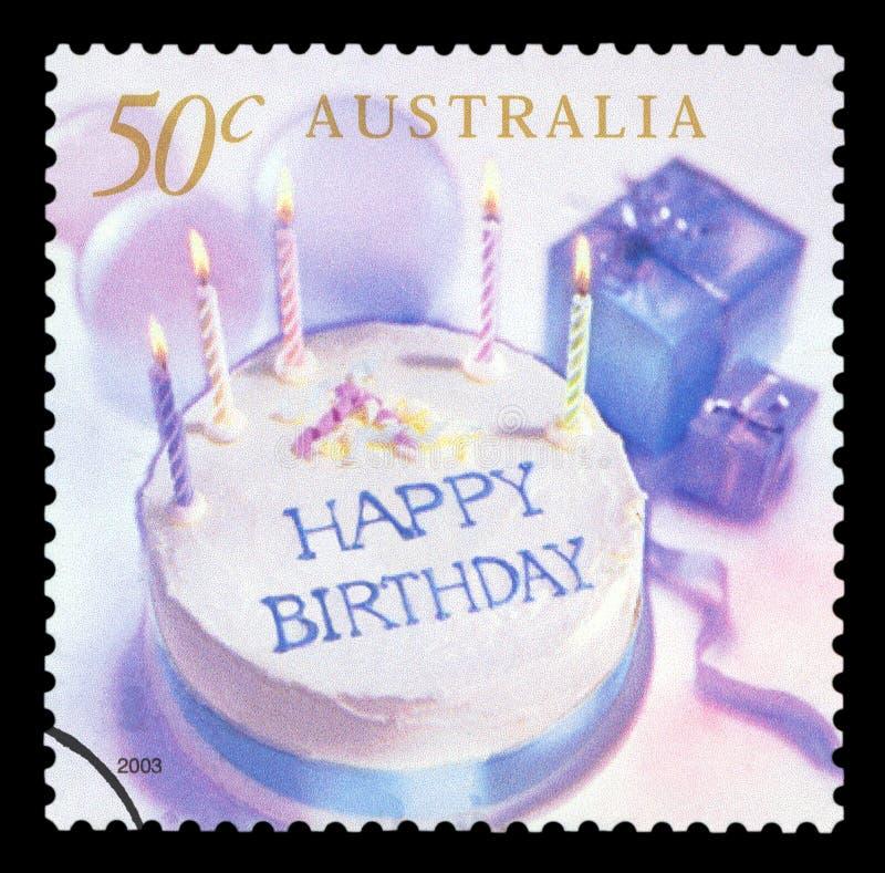 AUSTRALIA - sello fotografía de archivo