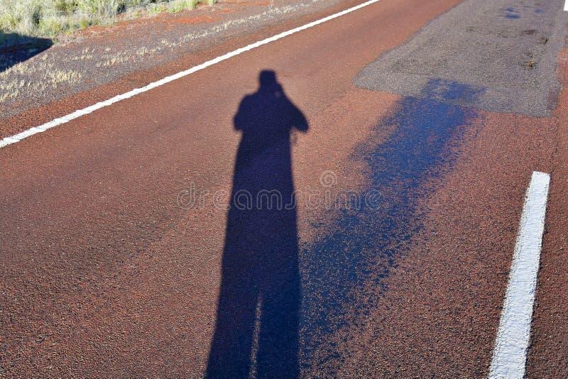 Australia, self portrait stock image