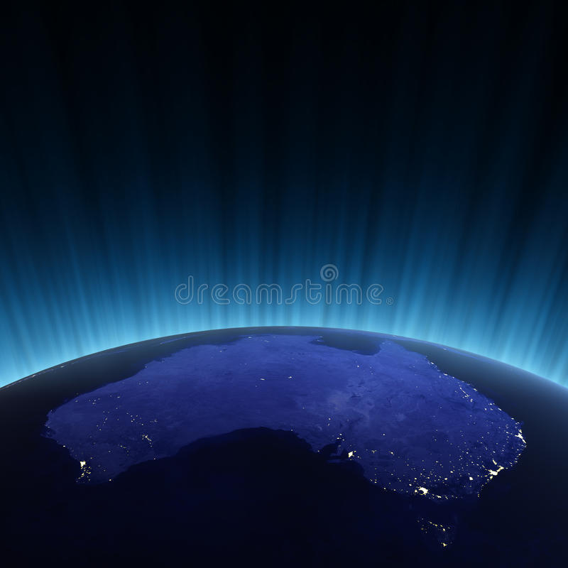 Download Australia From Space Royalty Free Stock Image - Image: 15327996
