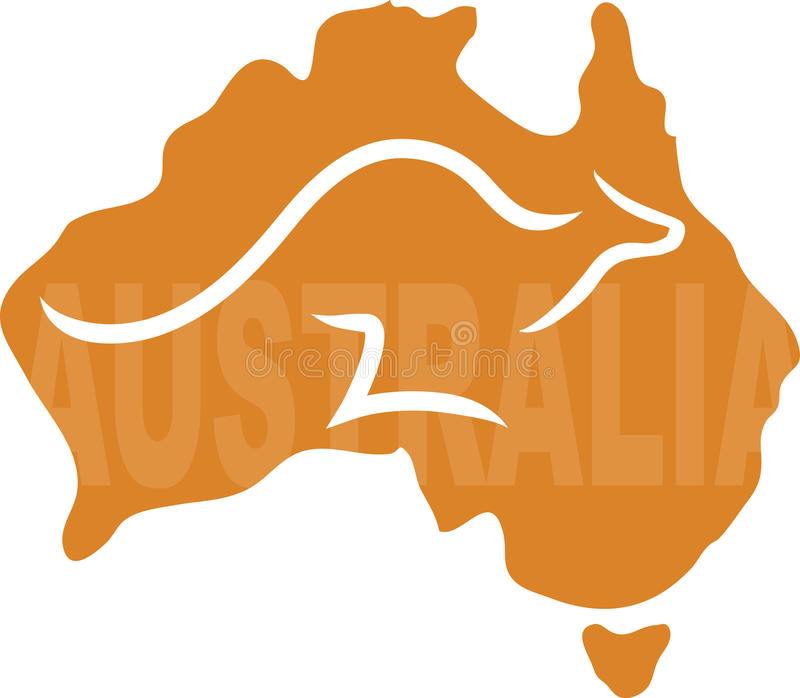 Download Australia stock vector. Image of animal, mammal, outback - 30752543