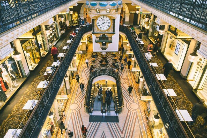 Australia Sydney Queen Victoria Building Interior royalty free stock photography