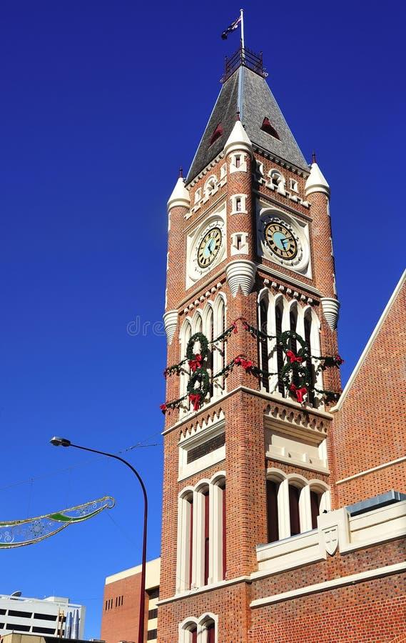australia urząd miasta Perth miasteczko zdjęcia royalty free