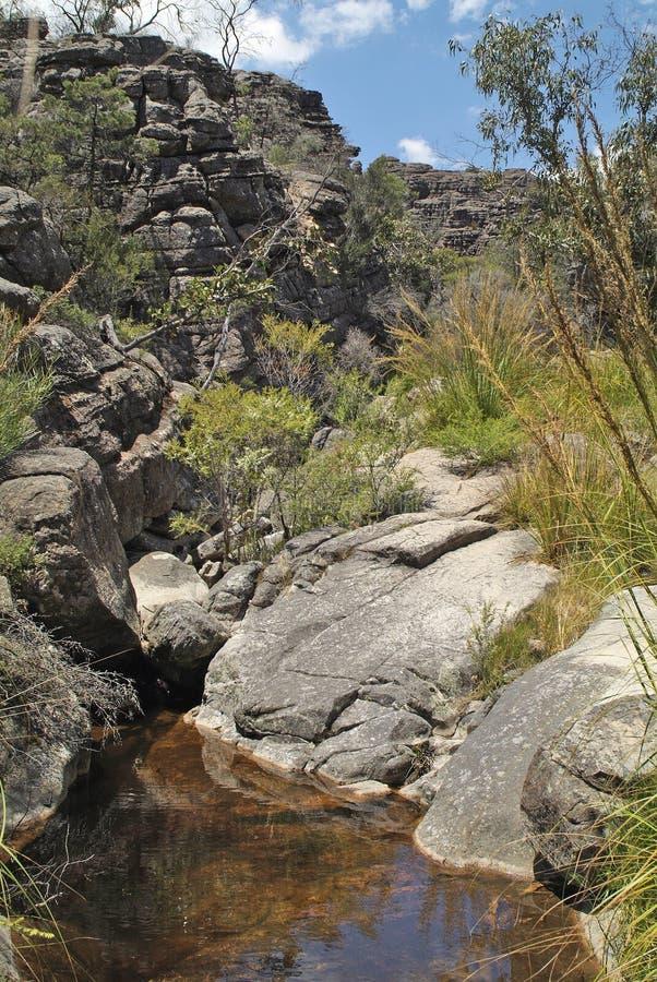 Australia, VIC, Grampians Nationalpark imágenes de archivo libres de regalías