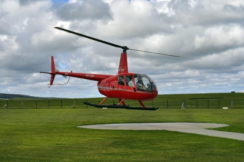 Australia, VIC, Portowy Campbell park narodowy, sceniczni loty zdjęcie stock
