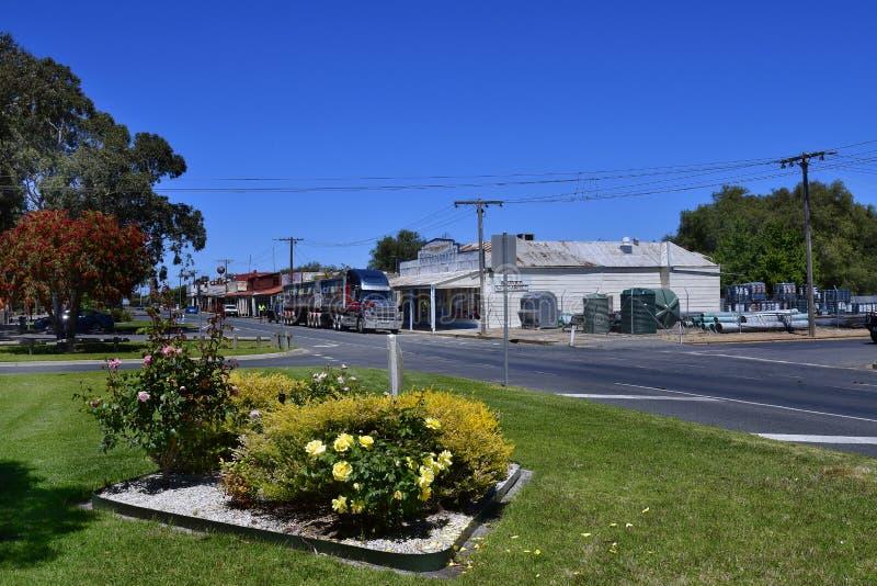 Australia, Victoria, pueblo de Rupanyup fotografía de archivo libre de regalías