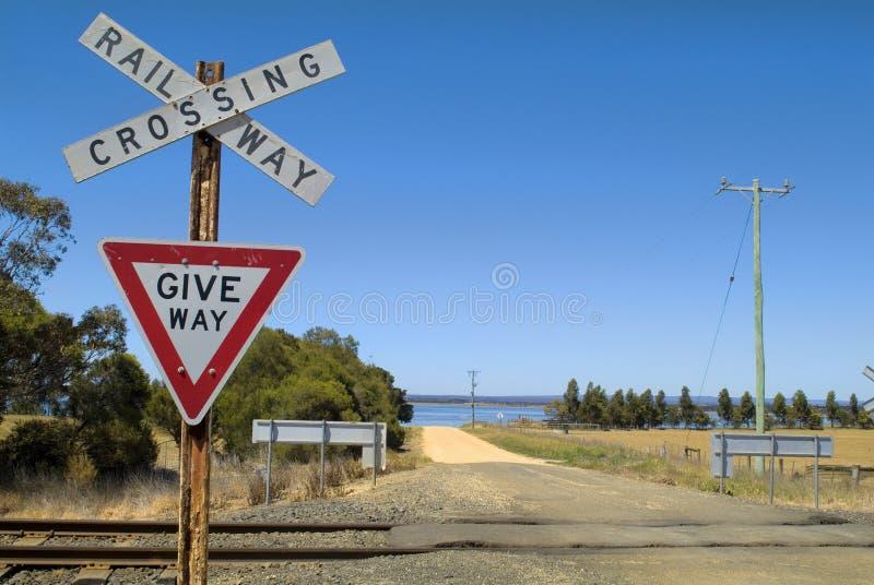 Australia, Victoria, railway stock images