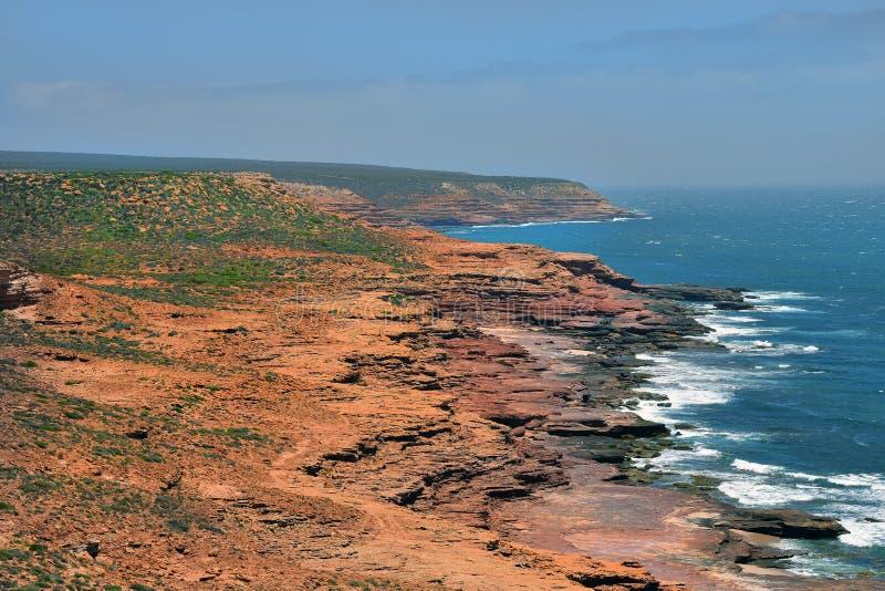 Australia, WA, Kalbarri NP on Indian Ocean royalty free stock image