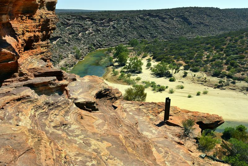 Australia, WA, Kalbarri NP royalty free stock photos