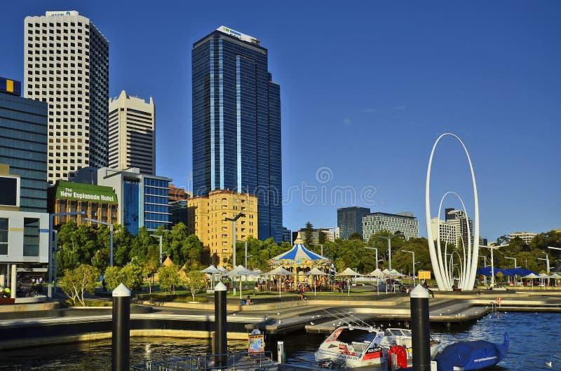 Australia, WA, Perth CBD fotos de archivo