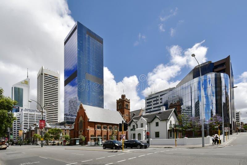 Australia, WA, Perth CBD imágenes de archivo libres de regalías