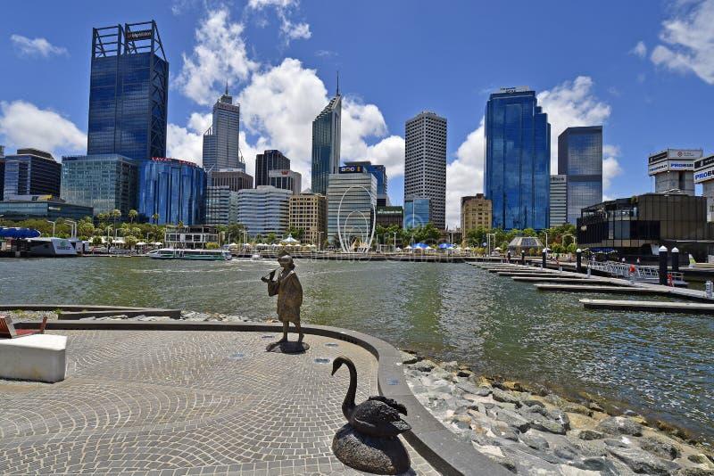 Australia, WA, Perth CBD fotografia stock