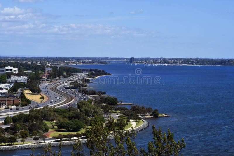 Australia, WA, South Perth stock image
