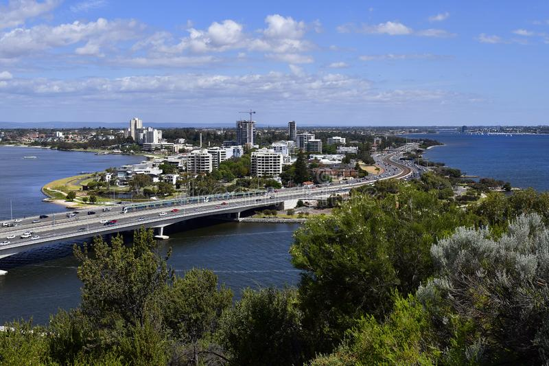 Australia, WA, South Perth stock photography