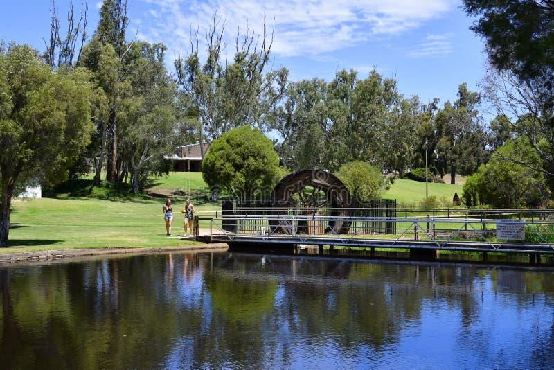 Australia, Western Australia, Gingin Village stock images