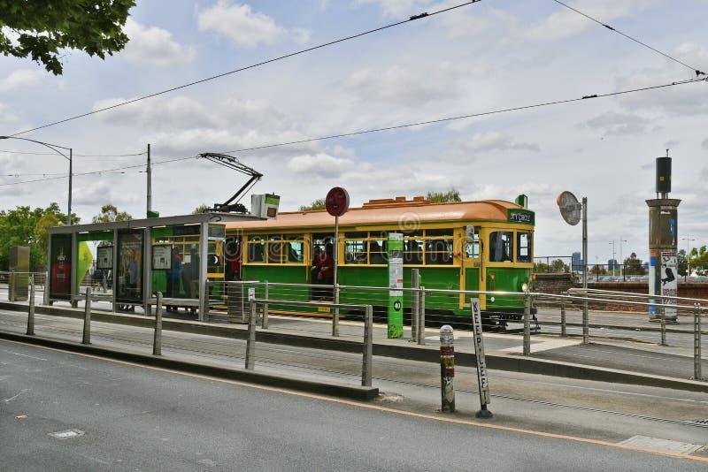 Australia, Wiktoria, Melbourne, transport publiczny zdjęcie stock