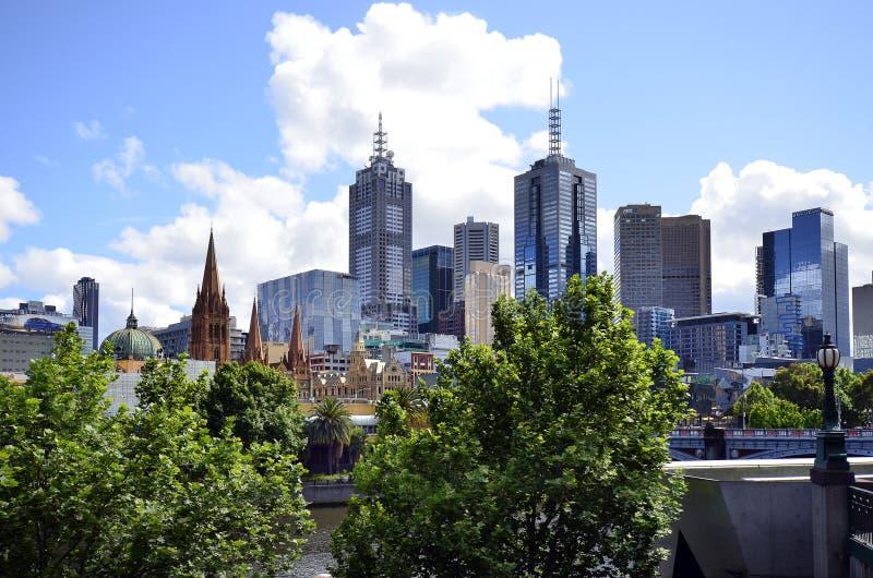 Australia, Wiktoria, Melbourne, w centrum okręg zdjęcie royalty free