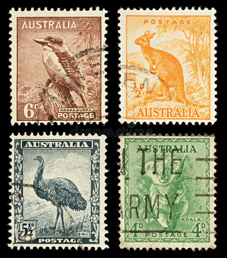 Free Australia Wildlife Postage Stamps Stock Image - 17137391