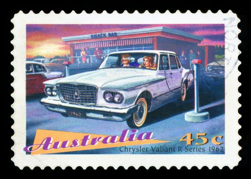 AUSTRALIA - znaczek pocztowy zdjęcia royalty free