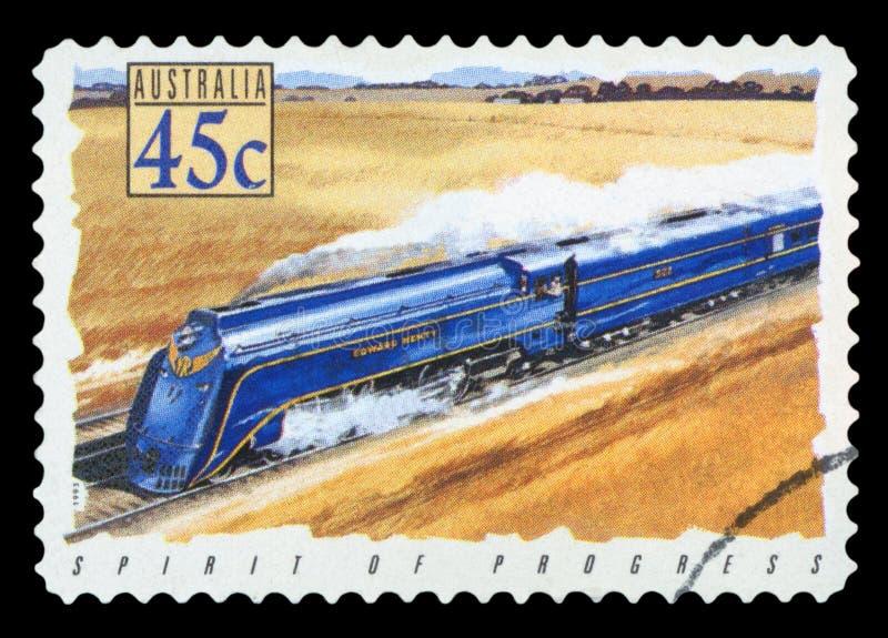 AUSTRALIA - znaczek pocztowy zdjęcie stock