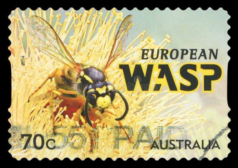 AUSTRALIA - znaczek pocztowy zdjęcie royalty free