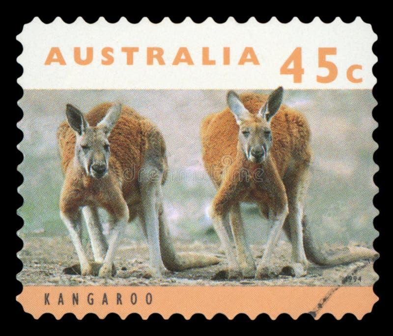 AUSTRALIA - znaczek pocztowy fotografia stock