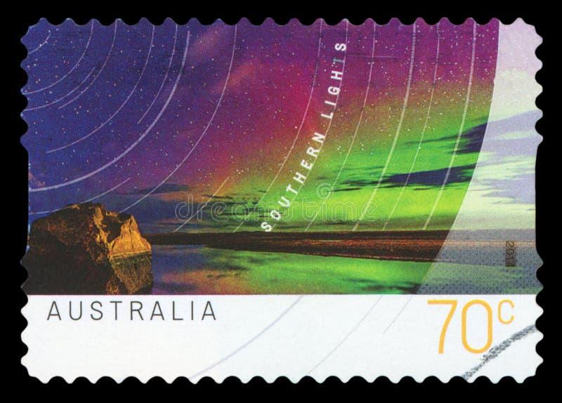 AUSTRALIA - znaczek pocztowy fotografia royalty free