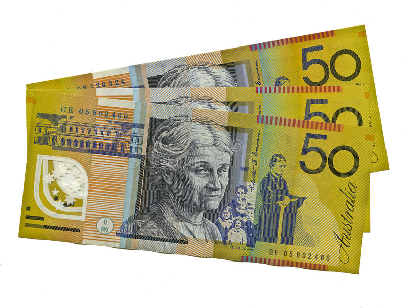 Download Australian $50 Featuring Edith Cowan Stock Photo - Image: 24182322