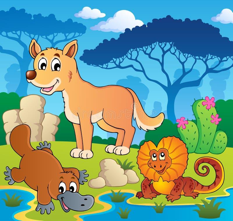 Free Australian Animals Theme 2 Royalty Free Stock Photos - 27832678
