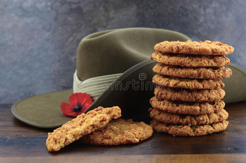 Australian Anzac biscuits royalty free stock images