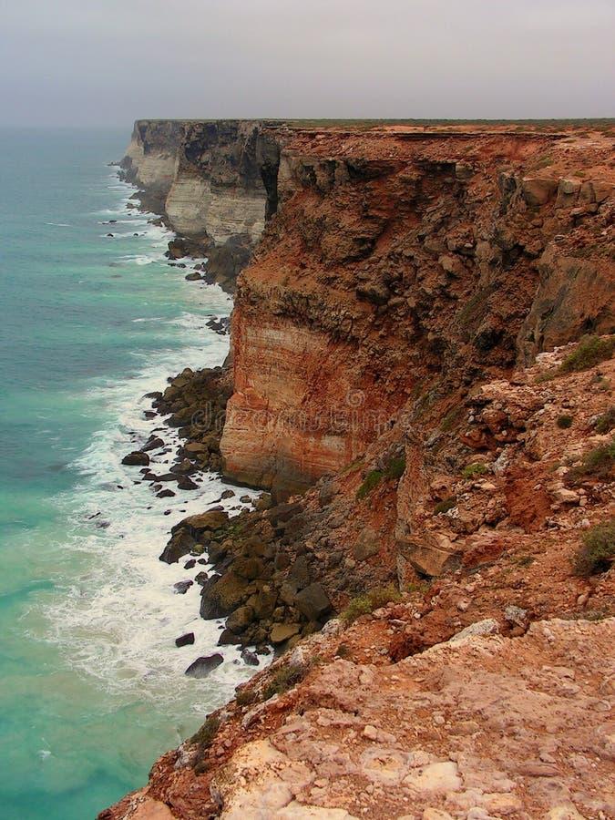 Australian Bight Marine Park cliffs royalty free stock images
