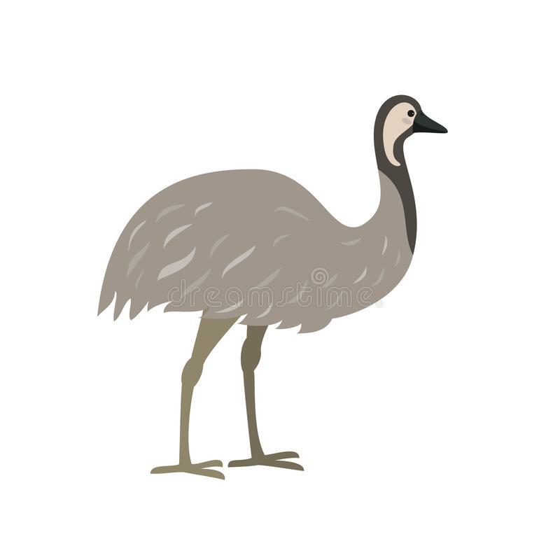 Cartoon Funny, Cute Bird With A Large Beak. Stock Vector ...