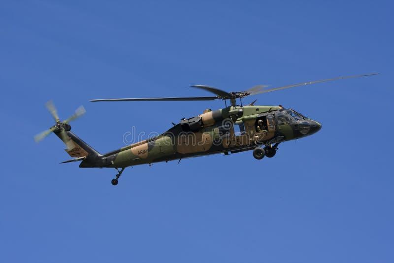 Australian Black Hawk Helicopter Royalty Free Stock Image