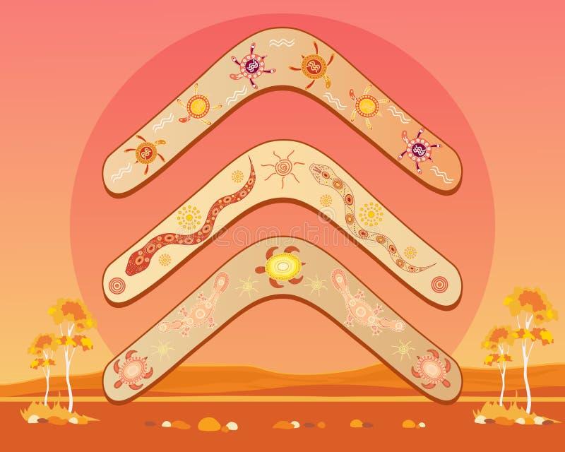 Download Australian Boomerang Design Stock Image - Image: 25929861