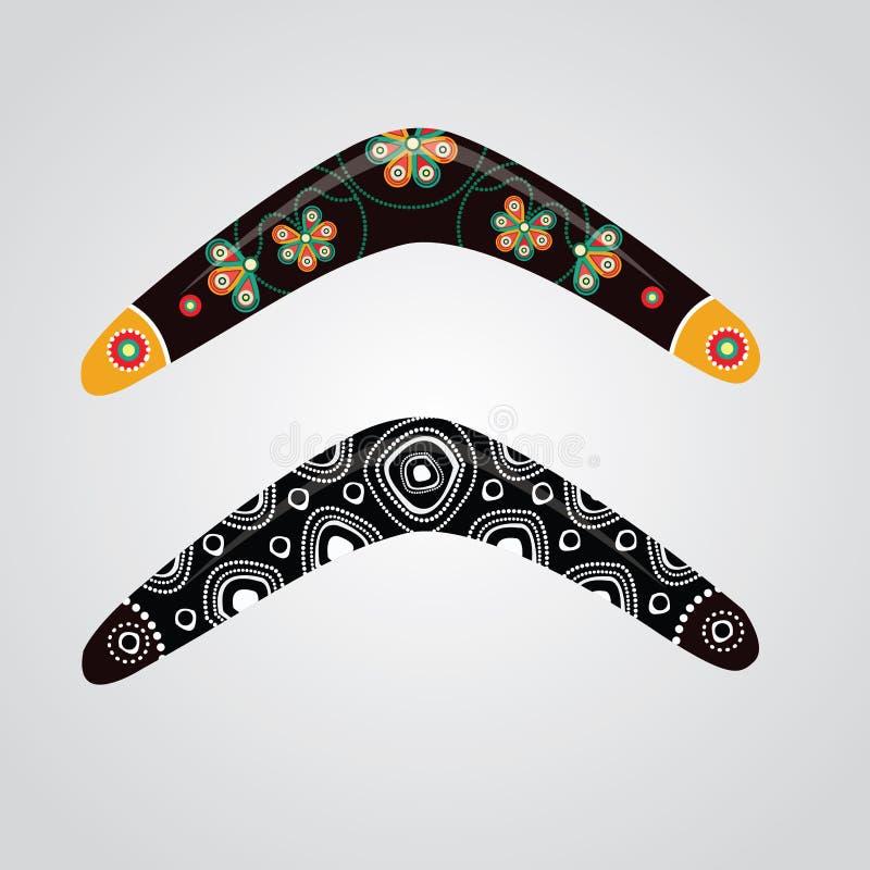 Australian boomerang vector. royalty free illustration