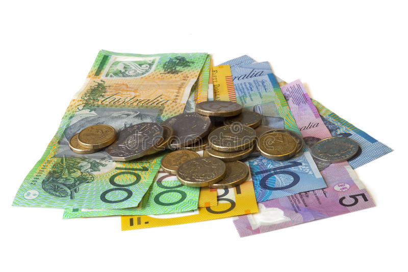 Australian Cash Stock Image