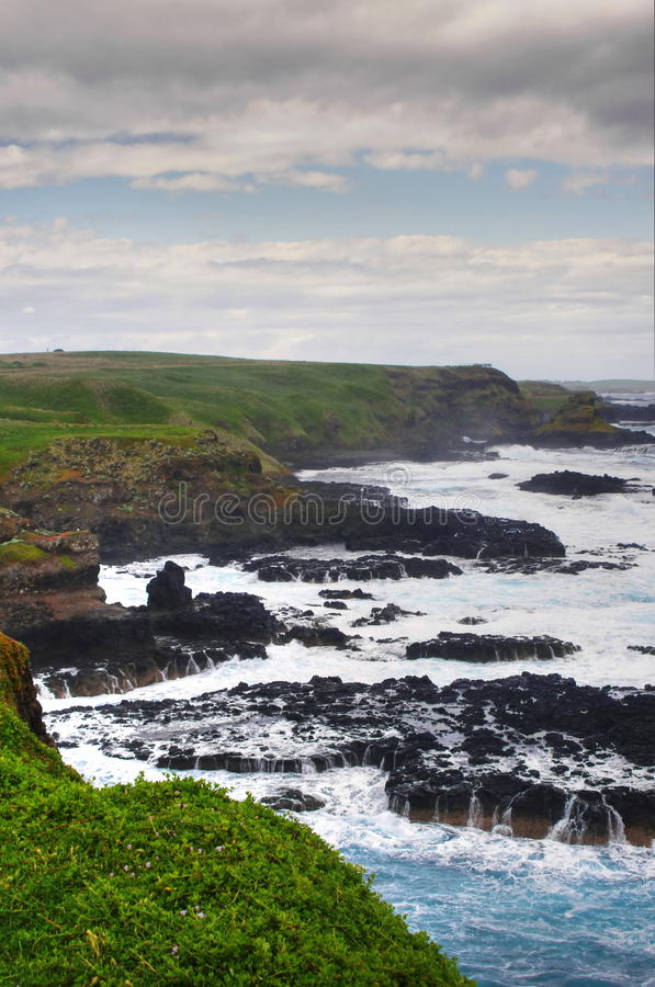 Download Australian coastline stock image. Image of colored, melbourne - 26221885