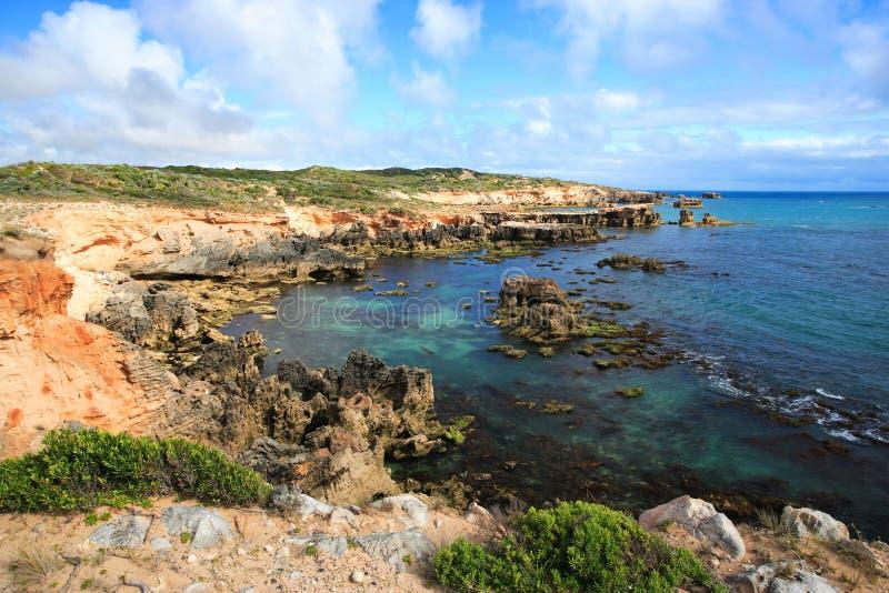Australian coastline royalty free stock photography