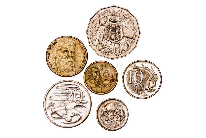 Download Australian coins stock image. Image of money, metal, path - 9931165