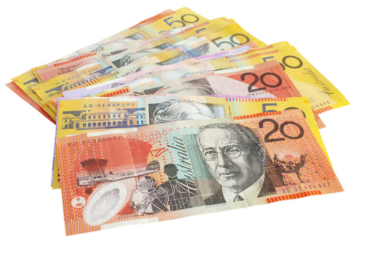 Download Australian Currency Pile stock image. Image of isloation - 27077385