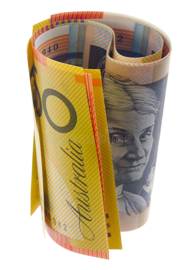 Free Australian Currency Rolled Stock Photos - 3781893