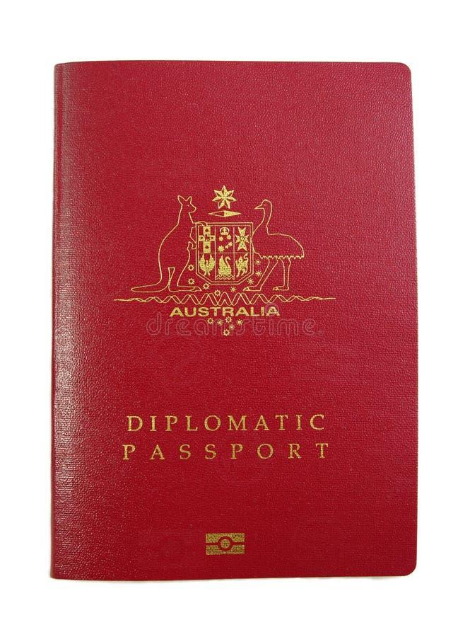 Australian Diplomatic Passport Stock Images