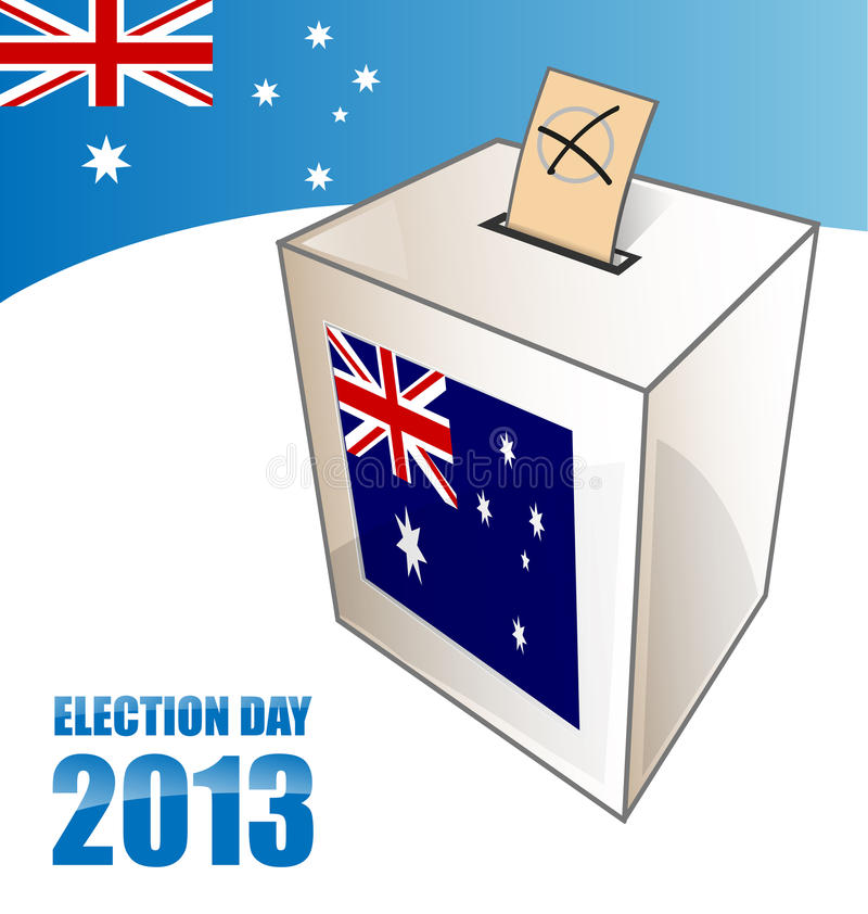 Australian election day vector illustration
