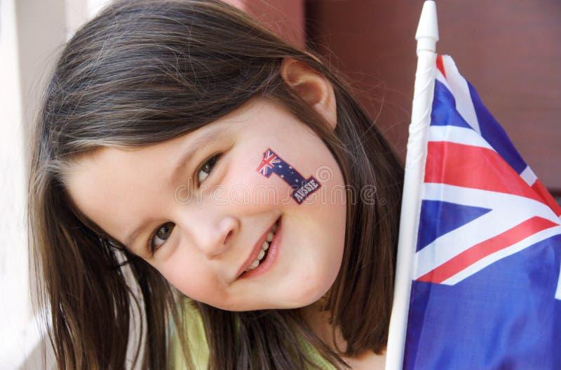 Download Australian Fan stock image. Image of ozzie, australian - 16227197