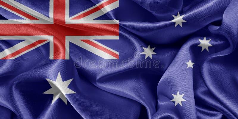 Australian flag royalty free stock photography