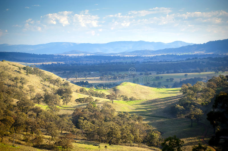 Download Australian Landscape stock image. Image of fields, mountain - 21259147