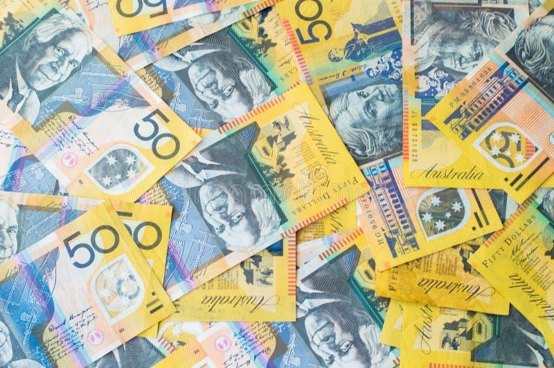Australian Money - Aussie currency. Background stock photos